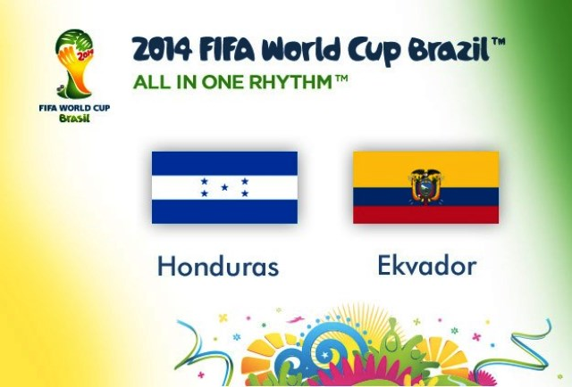 Bets10-Honduras - Ekvador 2014 Dünya Kupası