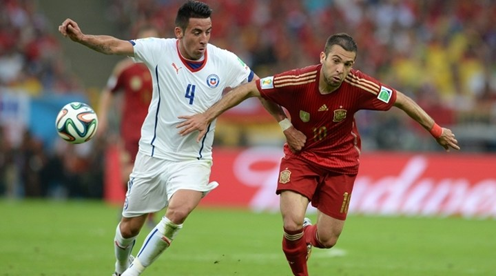 Bets10 İspanya - Şili 2014 Dünya Kupası