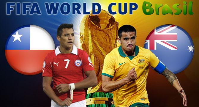Bets10 Şili - Avustralya Maçı 2014 Dünya Kupası