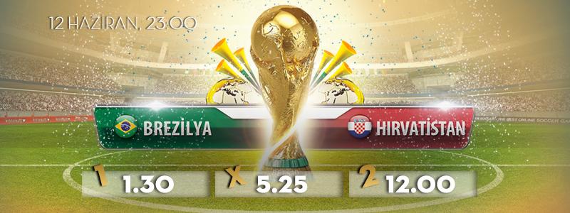 Brezilya Hırvatistan Bets10 Oranları