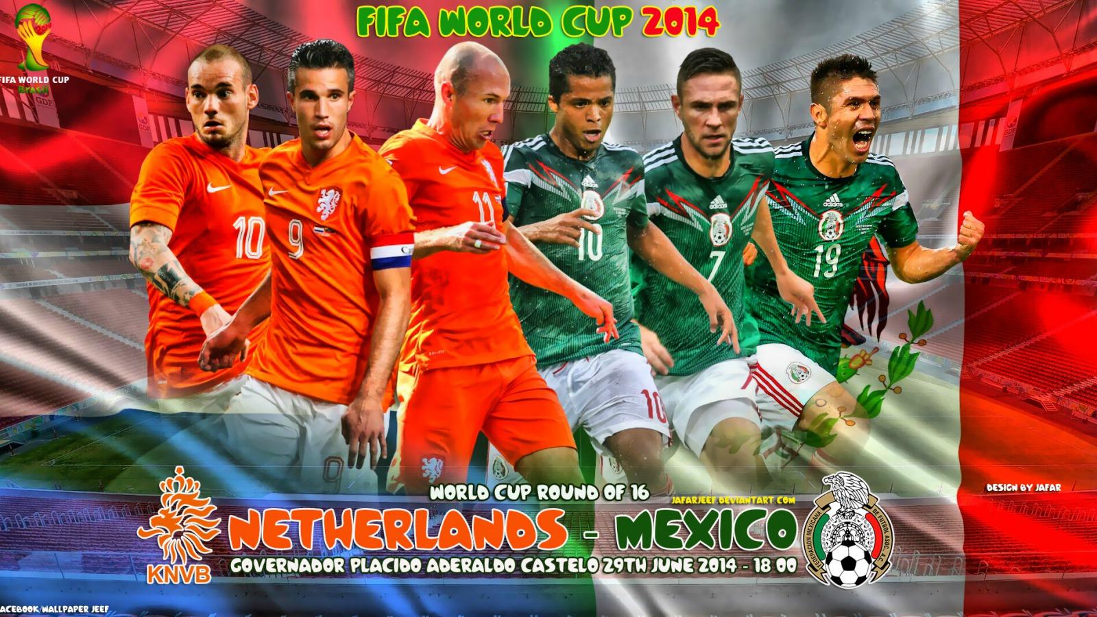 Hollanda Meksika, Günün en çekişmeli geçeçcek karşılaşması