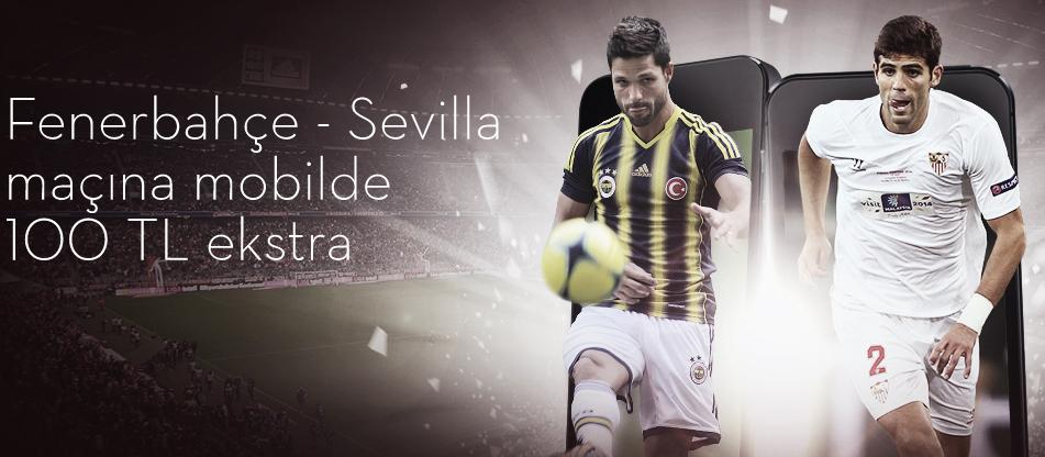 Fenerbahçe - Sevilla Maçı için Muhteşem Bonus Bets10 da