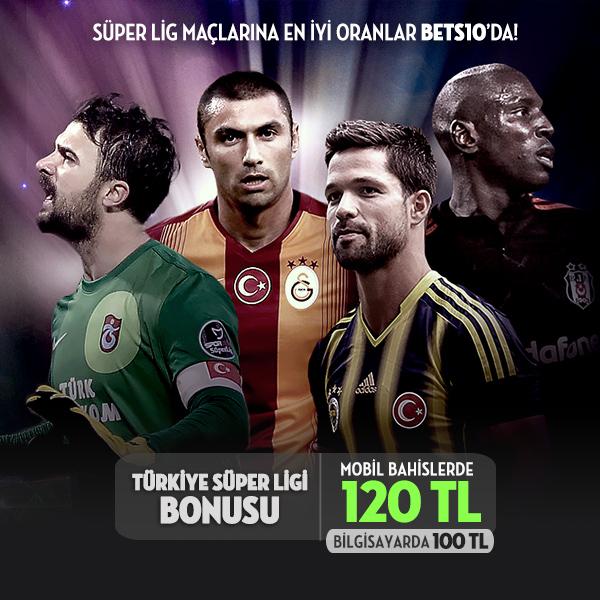 Bets10 Süper Lig Bonusu 120 TL