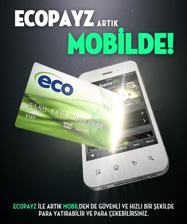 Bets10 Ecopayz Mobil