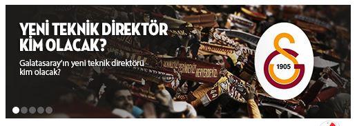 Galatasaray teknik direktörü kim olur Bahisi
