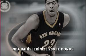 Bets10 NBA Bahislerine 200 TL Bonus