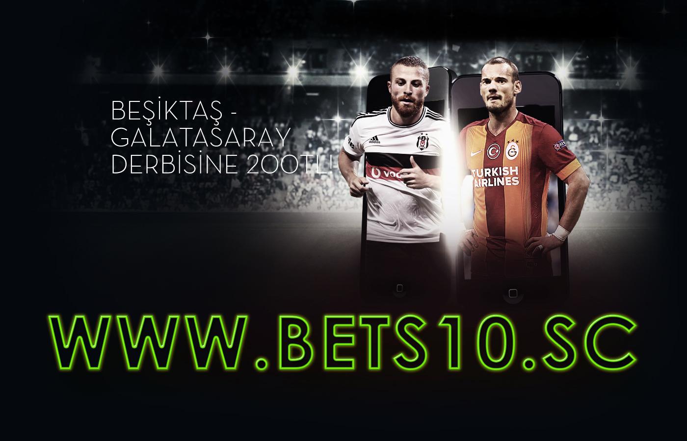 Bets10 Derbi Bonusu 200 TL