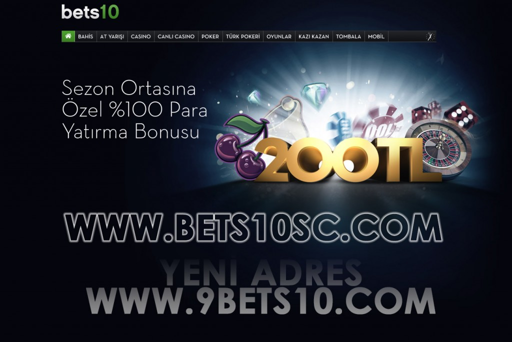 Bets10 Yeni adres 9bets10.com
