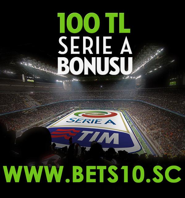 Bets10 Serie A Bonusu