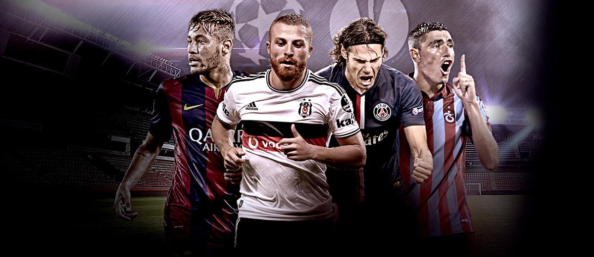Bets10 Avrupa Kupaları Bonusu 100 TL