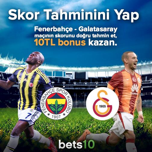 Bets10 Fenerbahçe- Galatasaray skor Tgahmin Yarışması
