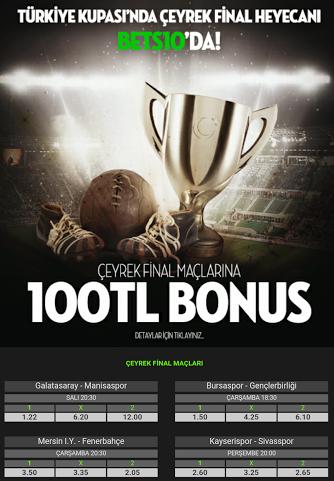 bets10 türkiye kupası bonusu tam 100 tl