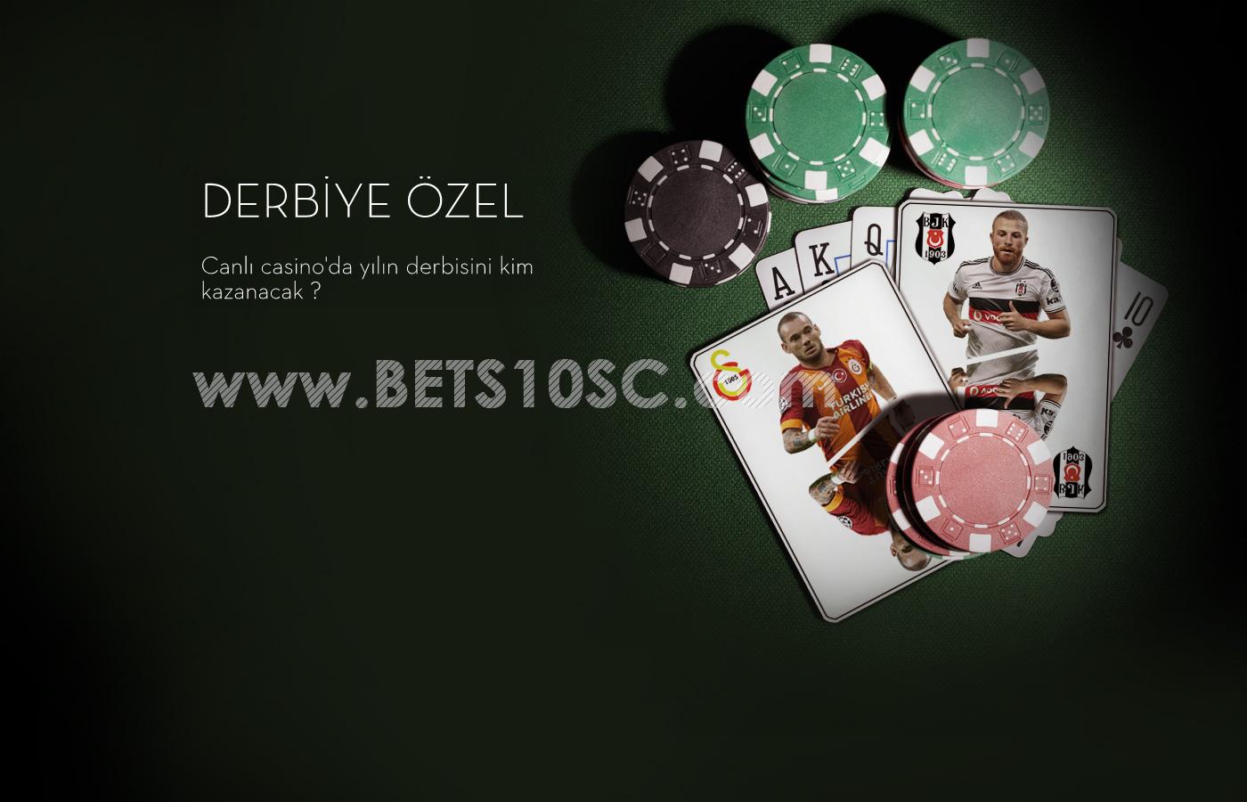 Galatasaray Beşiktaş - Dev Derbi Dev Kampanya Yine Bets10'dan