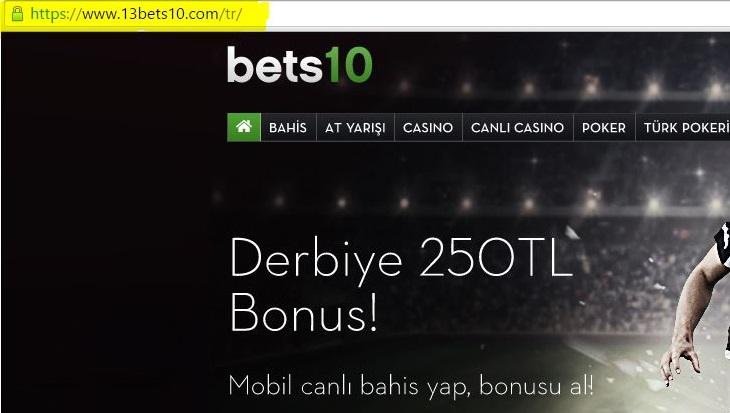 13Bets10.com