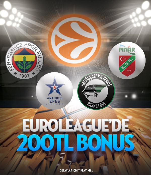 Bets10 EuroLeague 200 TL Bonus