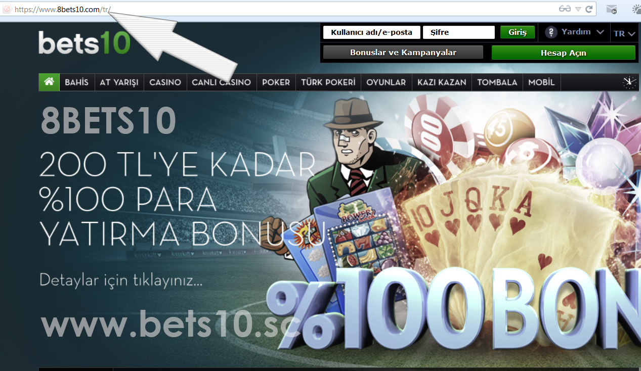 8BETS10 YENİ ADRES