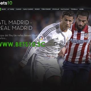 Bets10 Atletico Madrid Real Madrid Maçı