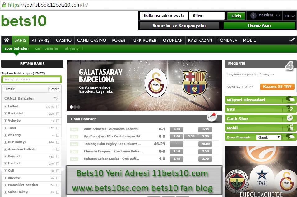 Bets10 Yeni Adresi 11bets10.com