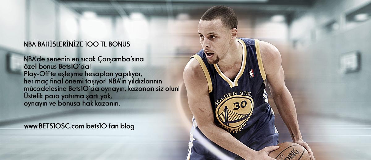 Bets10 100 TL NBA Bonusu