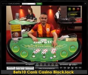 Canlı Casino BlackJack Galatasaray Masası
